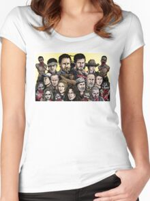 Walking Dead  Women's Fitted Scoop T-Shirt