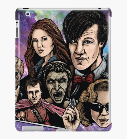 11th Dr. Who  iPad Case/Skin