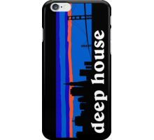 Deep house. San Francisco skyline silhouette iPhone Case/Skin