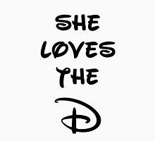 She loves the D (Disney inspired) Bachelor or Bachelorette shirt T-Shirt