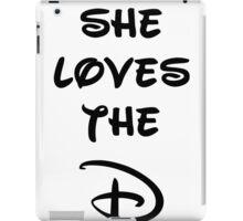 She loves the D (Disney inspired) Bachelor or Bachelorette shirt iPad Case/Skin