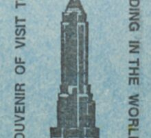 Empire State Building 2 Sticker