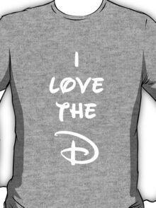 I love the D (Disney inspired) Dark Bachelor or Bachelorette shirt T-Shirt