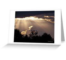 Shining Through Greeting Card