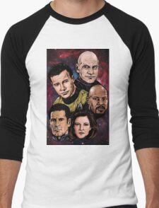 Star Trek Captains Men's Baseball ¾ T-Shirt