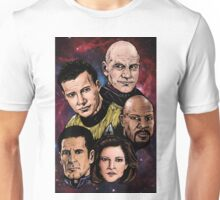 Star Trek Captains Unisex T-Shirt