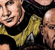 Star Trek Captains Sticker