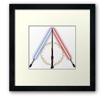 Fantasy Hallows Framed Print