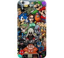 Video Game History iPhone Case/Skin