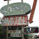 Original 66 Motel Sign Tucumcari by Paul Butler