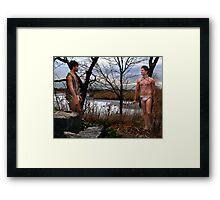 Woodland Nymphs Framed Print