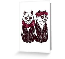 Ming One and Ming Two Greeting Card