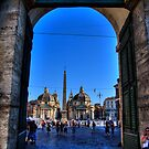 DOORWAY TO ROME by MIGHTY TEMPLE IMAGES