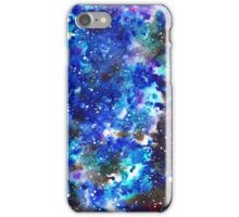 watercolor night sky iPhone Case/Skin