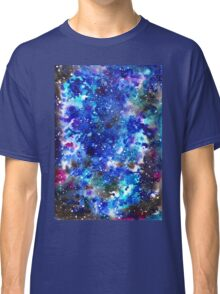 watercolor night sky Classic T-Shirt