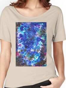 watercolor night sky Women's Relaxed Fit T-Shirt