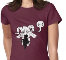 ;___; Womens Fitted T-Shirt