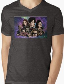 11th Dr. Who  Mens V-Neck T-Shirt