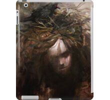 Bad thoughts are like birds... iPad Case/Skin