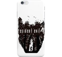 RE4 Transparent European Box Art Style iPhone Case/Skin