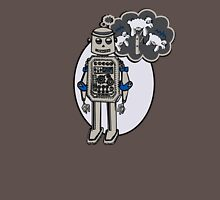 Robots and Sheep Unisex T-Shirt