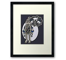 Robots and Sheep Framed Print