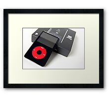 U2 Video iPod Framed Print