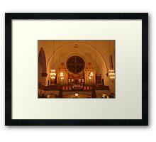 Art Nouveaux Church Framed Print