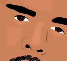 Hip Hop Portrait 3 Sticker