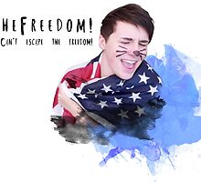 Danisnotonfire - I can't escape the freedom by isabellademetz