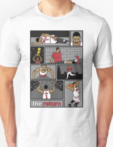D.Rose Rises 'The Return' Comic T-Shirt