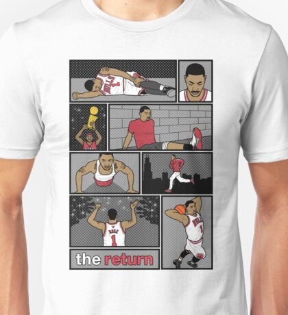 D.Rose Rises 'The Return' Comic Unisex T-Shirt