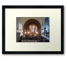 Neo Romanesque and Art Nouveaux Church Framed Print