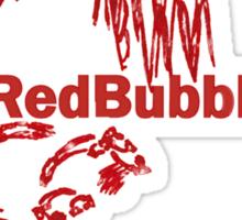 Red Bubbler T II Sticker