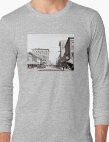 Vintage Downtown Birmingham Alabama Long Sleeve T-Shirt