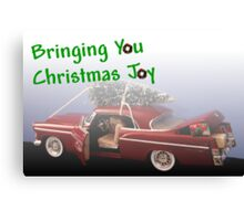 Bringing You Christmas Joy Canvas Print