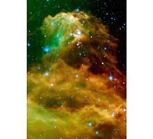 Space Nebular Phone Case by brzt