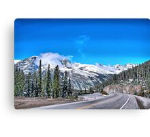 Icefield Parkway Canvas Print