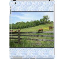 Springtime in a Peaceful Pasture iPad Case/Skin