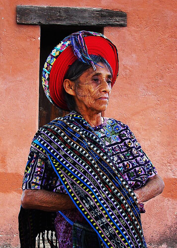 TZUTUJIL LADY - GUATEMALA by Michael Sheridan