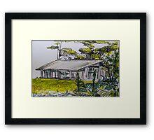 Joss and Kamal's Denmark Paradise Framed Print