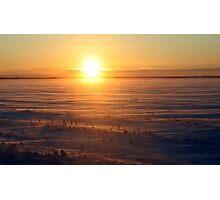 Cold Sunrise Photographic Print
