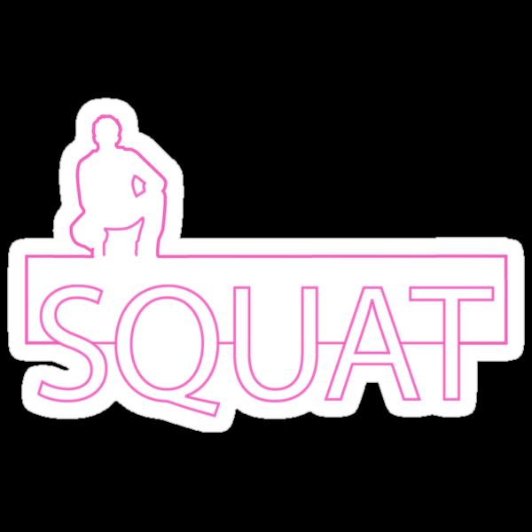 Line 1.a - Squat! by shanmclean