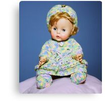Doll Portrait Canvas Print