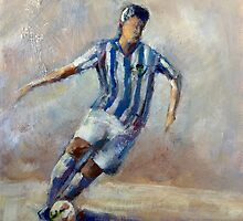 The football player (2) by Ivana Pinaffo