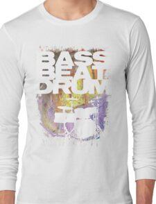 BASS BEAT DRUM Long Sleeve T-Shirt