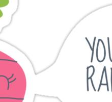 VEGETABLE-RADISH! Sticker