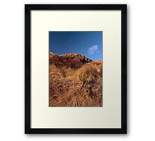Mandalay Beach Cliffs 1 Framed Print