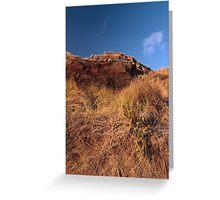 Mandalay Beach Cliffs 1 Greeting Card
