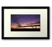 Mt Cooke Sunset Framed Print